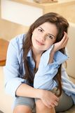 Young woman smiling Royalty Free Stock Images
