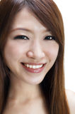 Young woman smiling Stock Images