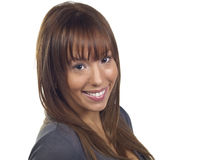 Young Woman Smiling Stock Photography