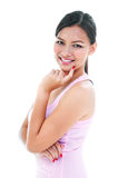 Young Woman Smiling Royalty Free Stock Photos