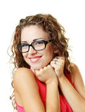 Young woman smiling Royalty Free Stock Image
