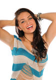 Young Woman Smiling Stock Image