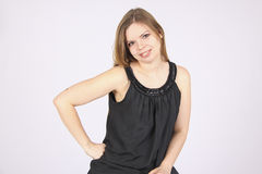 Young woman smiling Stock Photo