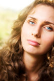 Young woman soft portrait Royalty Free Stock Photo