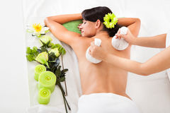 Young Woman In Spa Royalty Free Stock Photos