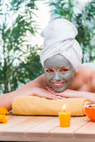 The young woman in spa health concept Royalty Free Stock Image