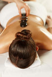 Young woman on spa treatment Royalty Free Stock Photos