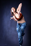 Dance girl Stock Image