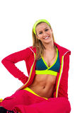 Young woman in sport outfit Stock Photo