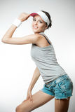 Young woman in sports clothing Royalty Free Stock Image