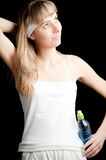 Young woman in Sportswear Royalty Free Stock Photography