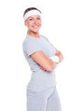 Young woman in sportswear Stock Photography
