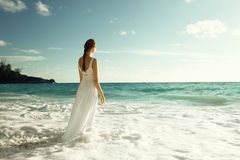 Young woman standing Royalty Free Stock Photos