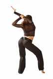 Young woman stretching Royalty Free Stock Photo