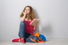 Young woman student Royalty Free Stock Images