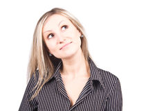 Young woman in studio Stock Photos