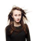 Young woman studio portrait Royalty Free Stock Photos