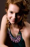 Young woman studio portrait Stock Image