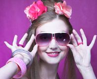 Young woman. Royalty Free Stock Photography