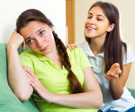 Young woman suffering from depression Stock Photo