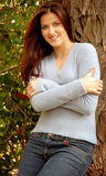 Young woman in sweater Stock Photos