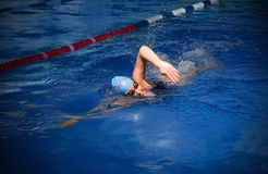 Young woman swimmer Stock Photography