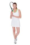 Young woman tennis player Royalty Free Stock Images