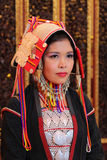 Young woman in traditional Myanmar clothes Royalty Free Stock Photography