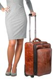 Young woman travelling on business. Royalty Free Stock Image