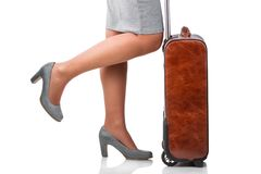 Young woman travelling on business Royalty Free Stock Photo