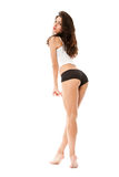 Young woman in underwear Stock Image