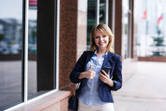 Young woman using smart phone Royalty Free Stock Photo