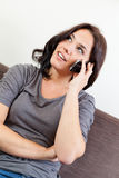 Young woman using a smartphone Royalty Free Stock Photo