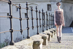 Free Young Woman Walking Royalty Free Stock Photo - 24623275