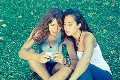 Young Woman Watching Photos Stock Photos