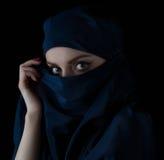 Young woman wearing hijab. Royalty Free Stock Photos