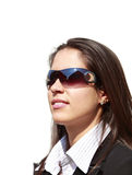Young woman wearing sunglasses Royalty Free Stock Photography
