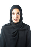 Young Woman Wearing Traditional Arabic Clothing Stock Photography