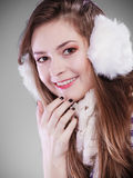 Young woman in wintertime. Stock Photography