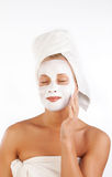 Young Woman With Face Mask Royalty Free Stock Photography