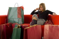 Free Young Woman With Mobile Phone Stock Photo - 3864230