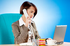 Young  woman working in the office Royalty Free Stock Photography