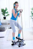 Young woman workout Royalty Free Stock Photo
