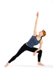 Young Woman Yoga Exercise Royalty Free Stock Image
