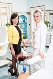 Cosmetic studio Stock Photo
