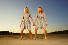Young women dancing Stock Photography