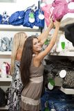 Young women doing shopping Royalty Free Stock Photo