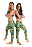 Young Women in Exercise Attire Royalty Free Stock Photos