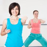 Young Women On Fitness Class Royalty Free Stock Photo