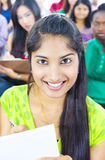 Young Women in Lecture Room Stock Photography